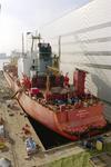 1689 Vrachtschip Igarka (IMO 8857863, bouwjaar 1986), diverse werkzaamheden aan de schroef en vervanging schroefas