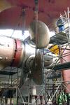 1739 Vrachtschip Igarka (IMO 8857863, bouwjaar 1986), diverse werkzaamheden aan de schroef en vervanging schroefas