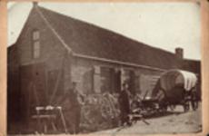 393a De wagenmakerij te Grijpskerke van Jacobus Luteijn, geboren Koudekerke (W.) 14 april 1830, overleden Grijpskerke ...