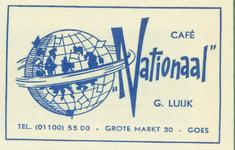 GOE-26 Café Nationaal , Goes