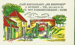 GOE-40 Café Restaurant De Koepoort , Goes