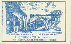 GOE-42 Café Restaurant De Koepoort , Goes