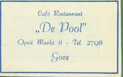 GOE-44 Café Restaurant De Pool , Goes