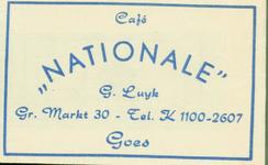 GOE-45 Café Nationale , Goes