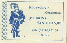 GOE-46 Schouwburg en Concertzaal De Prins van Oranje , Goes