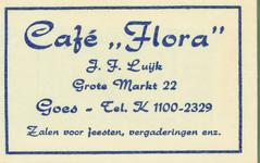 GOE-47 Café Flora , Goes