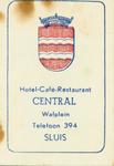 SLU-6 Hotel-Café-Restaurant Central, Sluis