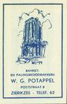 ZIE-11 Banket- en Palingbroodbakkerij W.G. Potappel, Zierikzee