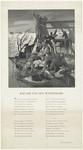 281 Een gedenkafbeelding als herinnering aan de grote watersnood in 1953 waar vooral Zeeland werd getroffen. De ...