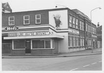 M 12033 Het kantoor van de jamfabriek De Betuwe aan de Grotebrugse Grintweg, de hoek met portierslokaal