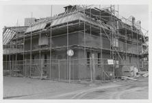 M 12037 De bouw van de bibliotheek aan de Kloosterstraat