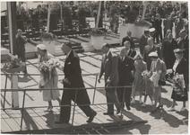 M 12116 In aanwezigheid van H.M. Koningin Juliana, Z.K.H. Prins Bernard, de prinsessen Marijke en Irene en talrijke ...