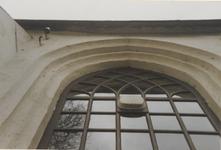 0690-3936 Detail van een raam van de kerk voor de restauratie van 1993.