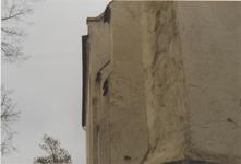 0690-3937 Overgang zuid gevel naar oost gevel voor de restauratie van 1993.