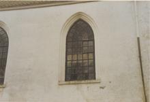 0690-3952 Detail noord gevel voor de restauratie van 1993.