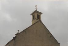 0690-3954 West gevel met torentje voor de restauratie van 1993.