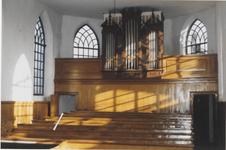 0690-4051 Binnenzijde N.H. Kerk, St. - Catharina, voor de restauratie.