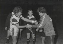 1386 Voetbalwedstrijd Fortitudo-Chicago Stings 1980