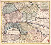 62 Een kaart van het gebied inhoudende Heusden, Altena, de Alblasserwaard, de Krimpenerwaard, Vijfheerenlanden en een ...