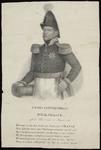 7 Portret generaal Chassé, heupstuk, naar links, in uniform met hoofddeksel. De linkerhand aan het gevest van zijn ...