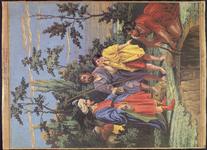 7945 Dit zijn tien fotokopiëen van met de hand ingekleurde patronen, van verschillende uitgevers en van verschillende ...