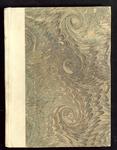 7669 Opnieuw ingebonden boekje met daarin een aantal houtsnedes van Quentel, voor en achterin staan een aantal blanco ...