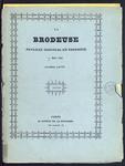 7948 Dit zijn twaalf tijdschriften, waarin als bijlage gedrukte maar ook hand ingekleurde borduurpatronen, 1839/1840