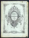 7952 Dit zijn zes tijdschriften waarin geel gedrukte patronen vrij borduurwerk en hand ingekleurde patronen, 1842