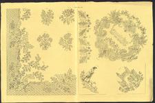 8204 Dit zijn negen borduurpatronen voor vrij borduurwerk, 15 september 1841