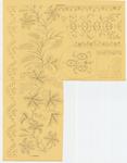 8205 Dit zijn vijf borduurpatronen voor vrij borduurwerk, 15 septembre 1841