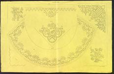 8243 Dit zijn zeven borduurpatronen voor vrij borduurwerk, 15 juni 1842