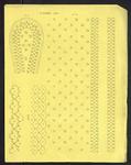 8247 De voorstelling op dit borduurpatroon bestaat uit vier motieven voor vrij borduurwerk, 15 juli 1842