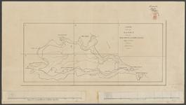 SAB002100184_0 Legger van een topografische kaart van de Bommelerwaard in 6 bladen