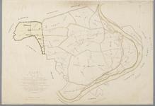 SAB002100217 Plankaart kadastrale gemeente Driel, met aanduiding van percelen die bij een gemeentelijke herindeling ...