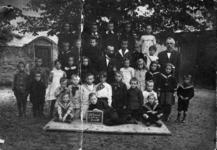 22-8169 Schoolfoto: groep 4.