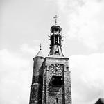 22-9461 Herbouwde spits met klok en carillon gasthuistoren