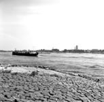 22-9524 Zicht op Zaltbommel vanaf de overzijde van de rivier bij Haaften