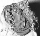 2257 Zegel van: Mr. Libertus Andreas Essenius d.d. 13 febr. 1733 schepen van Zaltbommel