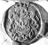 2410 Zegel van: Otto de Virieu d.d. 17 dec. 1789 schepen van Zaltbommel