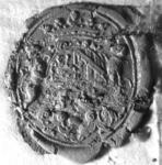 2413 Zegel van: Johan Vyvyan d.d. 20 april 1732 schepen van Zaltbommel
