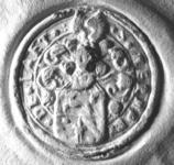 2405 Zegel van: Herman de Laet d.d. 3 juli 1644 schepen van Zaltbommel