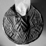 2332 Zegel van: Ghysbertus Splinteri d.d. 10 mei 1550 notaris