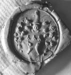 2334 Zegel van: Hendrik Blomhert d.d. 22 sept. 1749 schepen van Zaltbommel