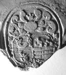 309 Zegel van: Cornelis Arnoldus Prillevitz d.d. 20 sept. 1800 schepen van Zaltbommel. NB. Hij zegelt met een ...