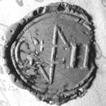 1823 Zegel van: Willem Hak d.d. 18 aug. 1770 leenman van het huis .....…