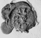2327 Zegel van: Cornelis (de) Worm(s) d.d. 11 dec. 1678 secretaris van Zaltbommel