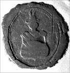 361 Zegel van: Dirk van Haren Noman, gebruikt door Rebecca Checkley, weduwe van Dirk van Haren Noman, zonder beroep, ...