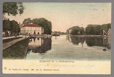 0331 Rijngezicht bij 's-Molenaarsbrug, 1900-1910