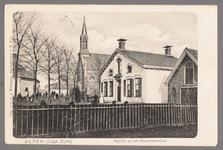 0467 Alfen (Lage Zijde) Gezicht op het Diaconessenhuis, 1895-1905