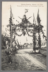 0586 Martha-Stichting, Alphen a./d. Rijn, Erepoort op bouw- en feestterrein, 7 juni 1910, 1905-1915